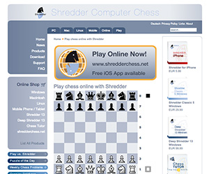 Shredder AI Chess Game